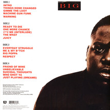The Notorious BIG - Ready To Die [2LP]